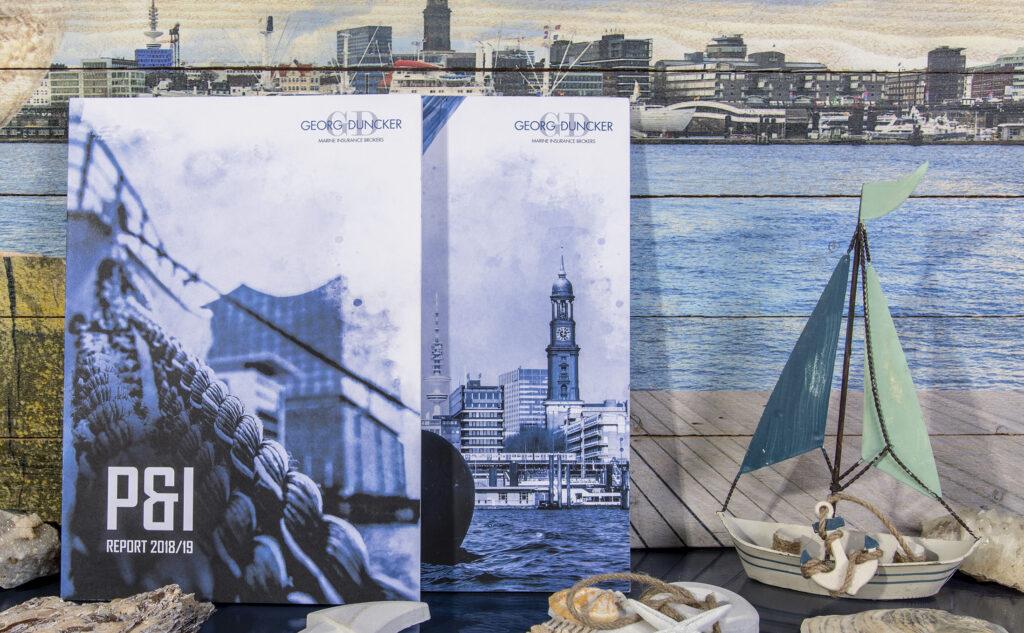 Fadengeheftete Broschüren für Geschäftsberichte